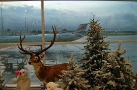 Christmas at Birmingham Airport