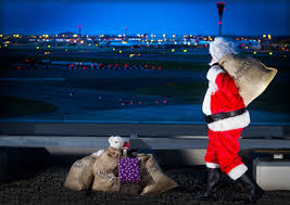 Christmas at Heathrow Airport
