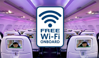 Wi-Fi in airplanes