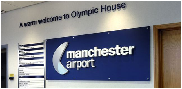 THE MANCHESTER AIRPORT