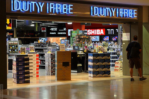 Duty Free Shops at UK Airports