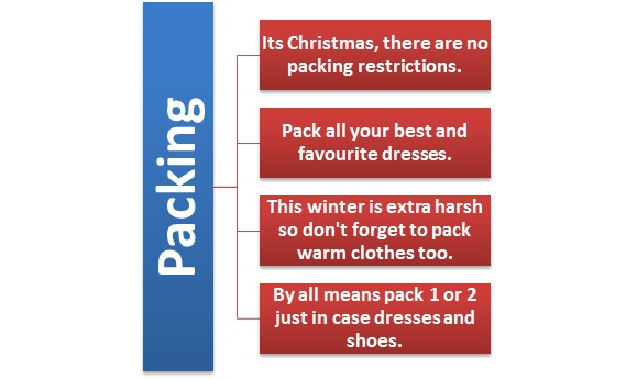 Packing Tips for Christmas