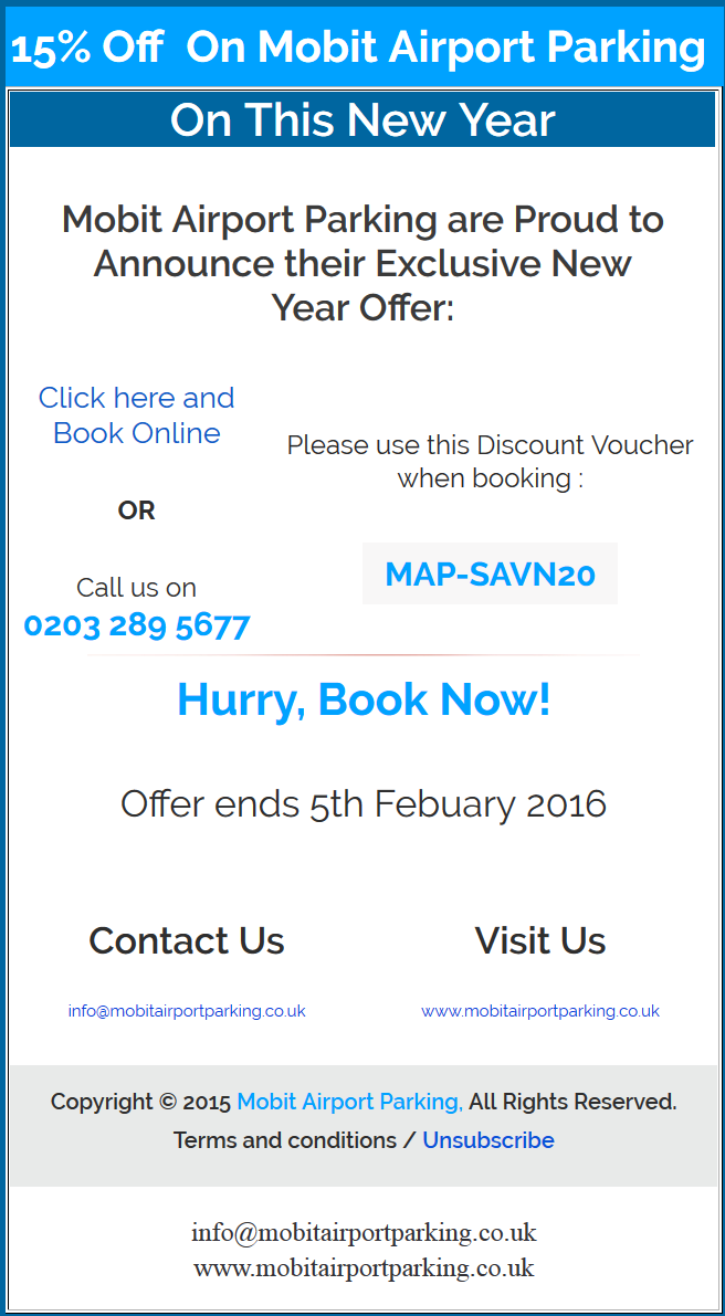 15% New Year Discount 2017
